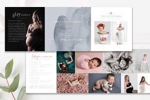 Photography Trifold Brochure Flyer