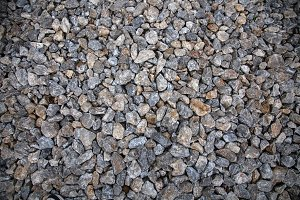 Close-up of gray stones