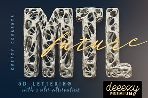 Future Metal – 3D Lettering