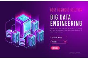 Design of big data engineering vector