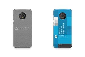 Moto G6 3d IMD Case Design Mockup