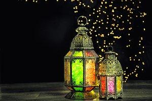 Oriental light lantern