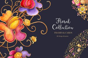 Floral Collection( Jpeg&PNG)