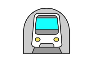 Metro color icon