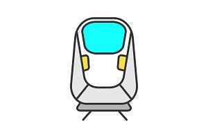 Transrapid color icon