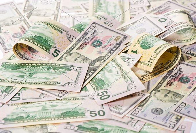American dollars. Money background - Business