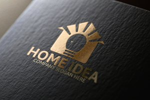 Home Idea Logo Template