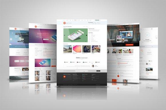 Download Web Presentation Mock Ups