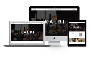 Kalbi - Restaurant WordPress Theme