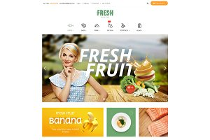 Pts Fresh -Food & Restaurant theme