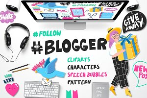 #Blogger
