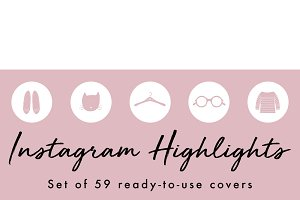 59 Instagram Story Highlight Icons