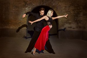 Argentine Tango in two.