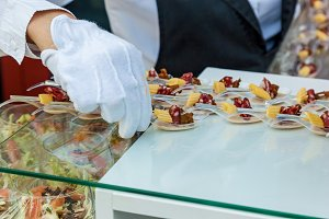 various snacks Catering