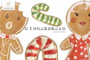 Gingerbread Art Set