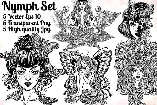 Nymph Mini Set