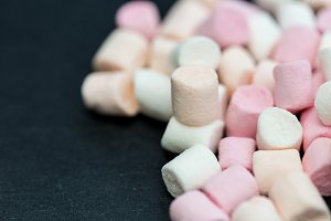 Marshmallow candy sweets