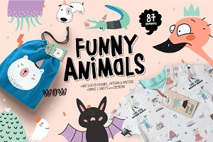 Funny Animal set