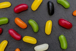 Candy sweets abstract food