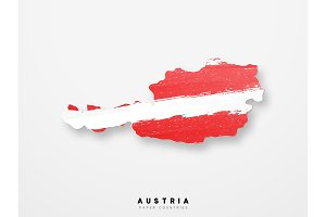 Vector Flag of Austria.