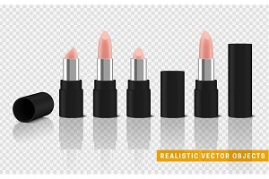 Bodily lipstick 3d illustration of a beautiful illustration.