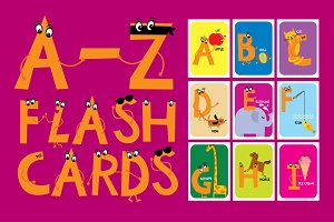 A-Z flashcards for babies/toddlers