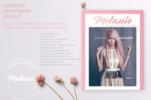 Melanie - Creative Stationery 01