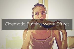 Cinematic Burning Warm Effect