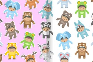 Animals costumes kids Patterns