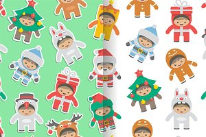Christmas costumes kids Patterns