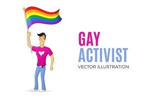 Gay Activist Mascot