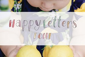 Happy Letters Font