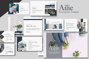 Ailie Keynote Template