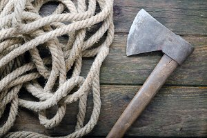 Ax and Rope