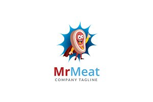 Mr Meat Logo