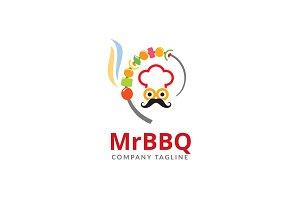 Mr BBQ Logo