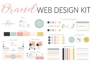 Web Branding Kit - Pink Perogative