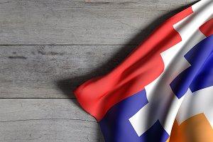 Artsakh flag
