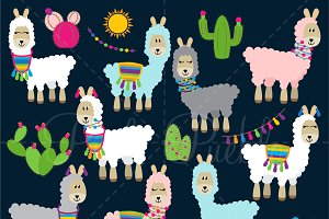 Llama Clipart and Vectors