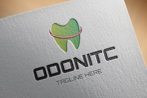 Odonite Logo Template