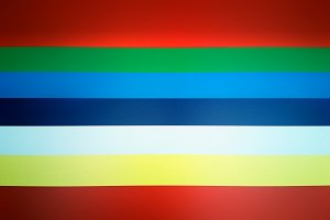 Vivid colored flag illustration background