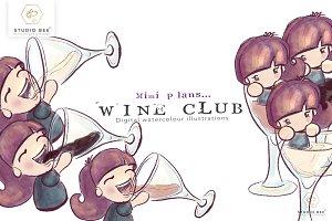 Mimi plans...Wine Club