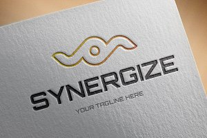 Synergize Logo Template