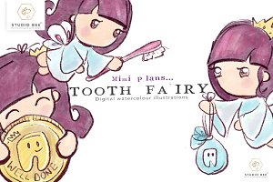 Mimi plans... Tooth Fairy Visit