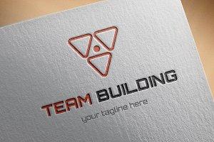 Team Building Logo Template