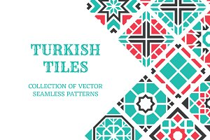 Turkish seamless tiles