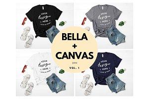 Bella Canvas 3001 Mockup Bundle V1