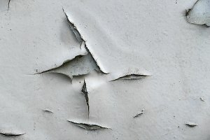 Natural old cracked paint
