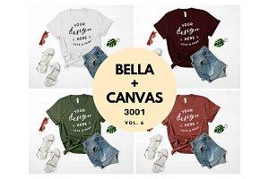 Bella Canvas 3001 Mockup Bundle V6