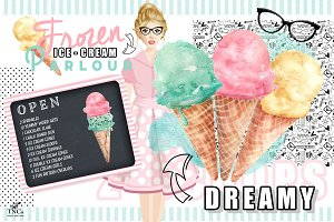 I Scream for Ice cream Graphics